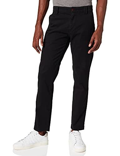Tommy Jeans Herren TJM SCANTON CHINO PANT Jeans, Schwarz, W36 / L36