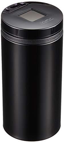 セイワ(SEIWA) 車用 灰皿 ソーラー缶アッシュ3ロング ドリンクホルダー型 ブラック LED付き W650