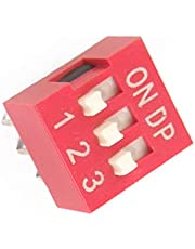 Aexit Interruptores DIP estilo deslizable de 3 posiciones de 2 piezas de 2,54 mm (f2aaa472ffd496bfc4e5c3d8a6ed3762)