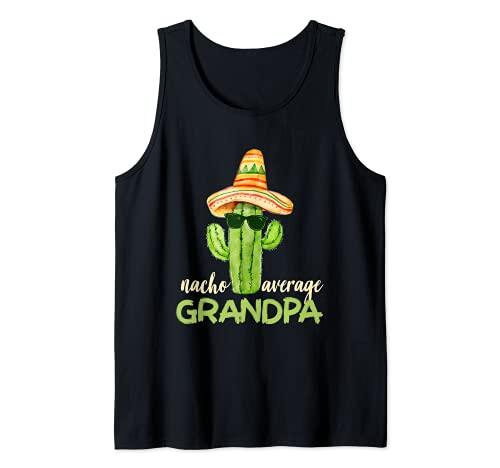 Nacho Average Grandpa - Regalos divertidos para el abuelo Camiseta sin Mangas