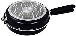 Thulos Sartén Doble Especial para Tortillas y Crepes, Dos tamaños: Ø20 y Ø24 cm TH-DFP20 / TH-DFP24 (20_cm)
