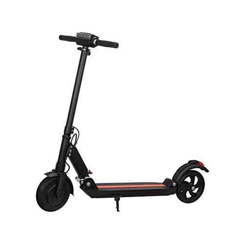 WAWZNN Monopattino Elettrico Pieghevole per Adulto Mini Hoverboard Scooter, velocità Massima 15 km/h, Carico 200 kg, Massima Resistenza 30KM, Regolabile in Altezza, per Adulti e Adolescenti,Nero