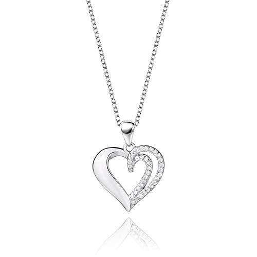 Bosi General Merchandise Collar en Forma de corazón, Colgante de Amor, joyería de Las señoras, Regalo Creativo, colección