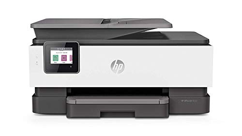 HP OfficeJet Pro 8022 (1KR65B) Stampante Multifunzione a Getto di Inchiostro, Stampa, Scannerizza, Fotocopia, Fax, Wi-Fi, Wi-Fi Direct, Smart Tasks, 2 Mesi di Instant Ink Inclusi, Nera , Bianco