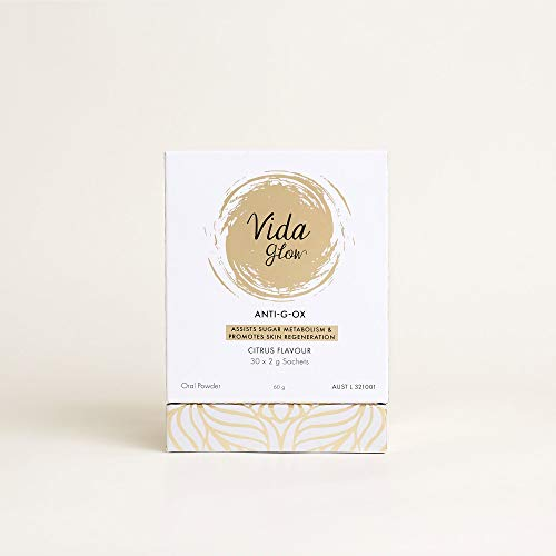 Vida Glow Anti-G-OX ASSISTS Suger Metabolism&Promotes Skin Regeneration (30 x 2gram Serves)