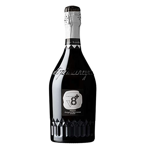 Sior Sandro Prosecco DOC Extra Dry V8+ Spumanti Vineyards Vino Spumante Dry 1 X 75 Italienischer Sekt