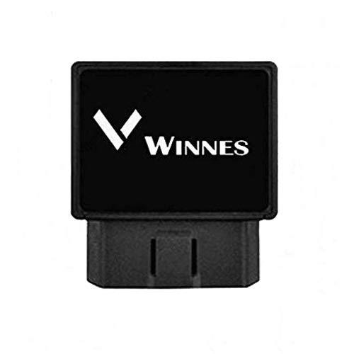Winnes Localizador Tracker GPS gsm GPRS para Vehículos Coche Moto Control Remoto Localizador GPS para Coche OBD2 GPS Coches Localizador Rastreador GPS Coche