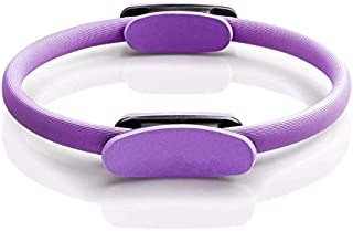 Pilates Ring Fitness Ring, Exercise Yoga Pilates Magic Circle with Dual Grip Handles for Fitness Training, Full Body Worko...