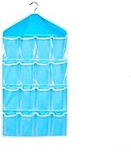 16 Pockets Over Door Hanging Storage Bag Case Organizer Wall Door Hanger Closet Underwear Socks Bra Storage Organizer