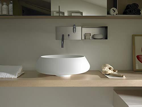 Agape Bjon ACER1084 Aufsatzspüle für 2 Waschbecken