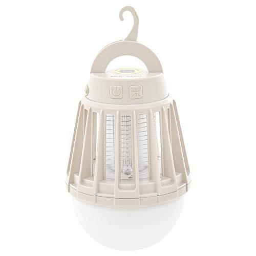 モダンデコ ランタン LED 虫よけ 電池式 (サンドベージュ)