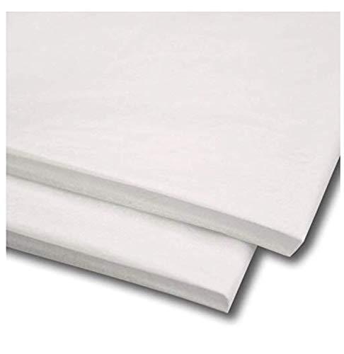 Packitsafe - MG Seidenpapier, säurefrei, 50,8 x 76,2 cm Farbiges Bastelpapier., weiß, 50 Sheets