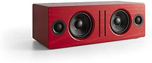 Audioengine B2 Bluetooth Speaker, Premium Wireless Speaker for Home Use, (Red)