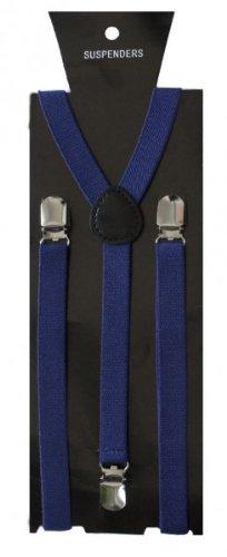 SoulCats Hosenträger für Damen Herren Y-Form,Farbe:blau