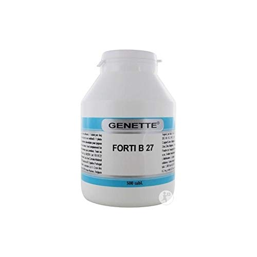 Genette Forti B 27 500 Pastillas,vitaminas + aminoácidos + minerales, para Palomas Deportivas
