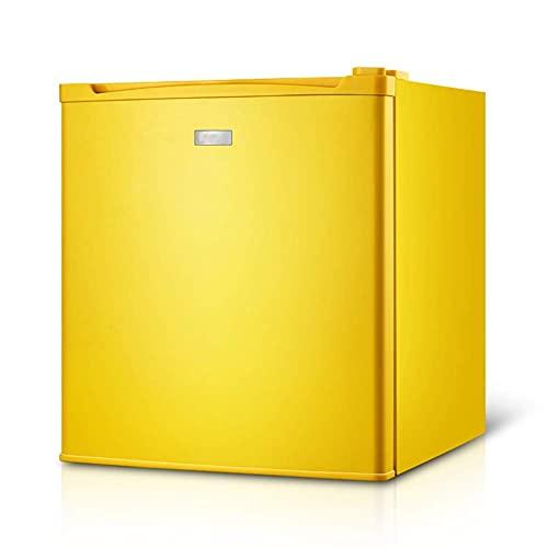 SHKUU Debajo del mostrador, refrigerador Independiente 50 l, termostato Ajustable, congelador, Mesa portátil compacta, Mini Baja energía, para hogar, Cocina, Oficina