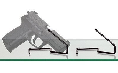 KikStands Displays Handguns - Gun Accessories Display Storage Stand, Adhesive Free Metal, Pistol Rifle Display Stand, Gun Rack, Organize Your Safe Display.