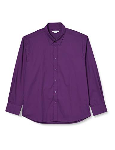 Kustom Kit Tailored Fit Premium Oxford Kk188, Chemise Business Homme Purple (Dark Purple) 44