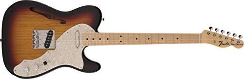Fender エレキギター Made in Japan Heritage 60 Telecaster® Thinline, Maple Fingerboard, 3-Color Sunburst