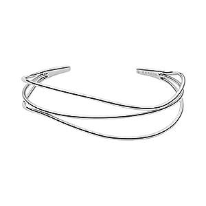 Skagen Damen-Manschetten Armbänder Edelstahl SKJ1124040