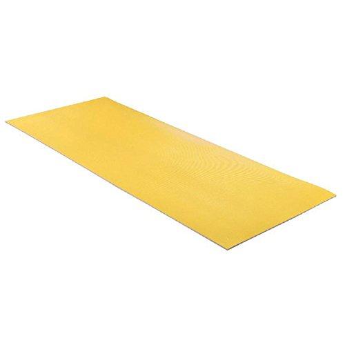Stuoia di Yoga di confortevoli antiscivolo tappetino palestra fitness esercizio 7mm