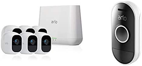 Arlo Pro 2 - Wireless Home Security Camera System with Siren | Rechargeable, Night vision, Indoor/Outdoor, 1080p, 2-Way Au...
