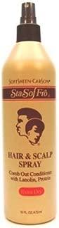 Sta-Sof-Fro Hair & Scalp Spray 16oz X-Dry (6 Pack)