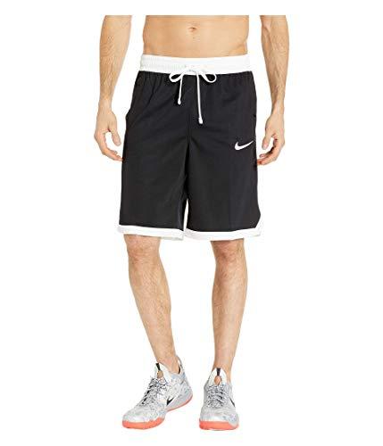 Nike Men's Dry Fit Elite Basketball Shorts Black/White Size Large