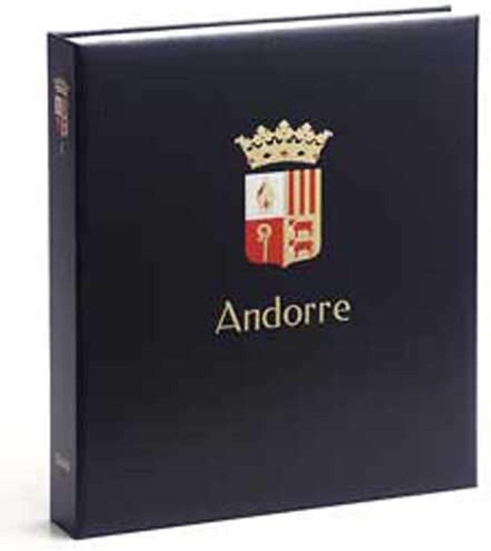 DAVO 1431 Luxe stamp album Andorra (Spain) 1928-2014