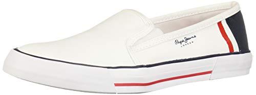 Pepe Jeans Cloven 3910109 Zapatillas para Hombre, Color Blanco, 27