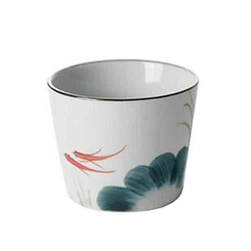 Set Van 2 glazen thee in keramische Japanse stijl kleine kopjes thee in Housekeeping,White