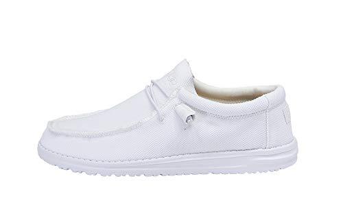 Hey Dude Herren Wally Sox Loafer, (Artic White), 46 EU