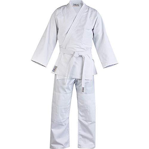 Weiß Judo Gi/Anzug mit gratis Gürtel 000/110 Weiß weiß 6/190