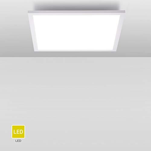 LED Panel flach, 62x62, Deckenlampe mit 4100 Lumen | Decken-Leuchte Neutralweiß - Tageslichtweiss für Büro, Wohnzimmer, Küche und Bad