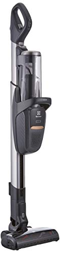 Electrolux Pure F9 Aspirador sin Cable 4 en 1, sin Bolsa, 0,7 l, 82 decibelios, Aluminio, Negro