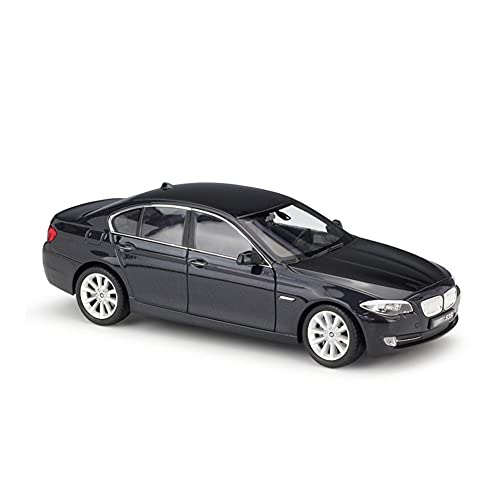 GEBAN Vehículo a Escala 1:24 para BMW 535i Serie 5 Seden Modelo de Coche aleación Metal Modelo Coche Diecast vehículos de Juguete Juguetes coleccionables para niños Puertas Abiertas (Color : A)