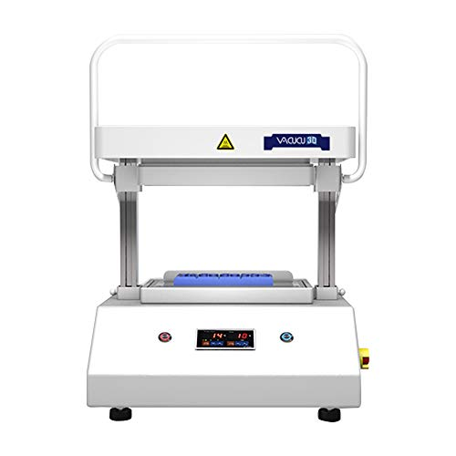 VACUCU3D A3(297mm×420mm/16.54x11.69in) Size The Best Desktop Vacuum Former Create Prototypes Molds and Casts in Classroom Kitchen Does not Need Any External Device Realize Your idea on Your Desk