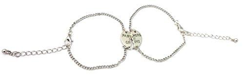 Lucky Joyce Partners in Crime Silbern Armbänder