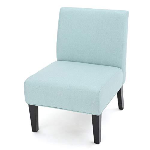 Kendal Light Blue Fabric Accent Chair