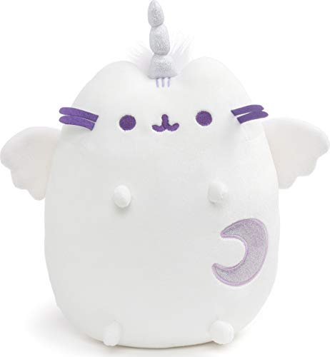 "GUND Super Pusheenicorn 9"" Pusheen Unicorn Cat Plush Stuffed Animal - White"