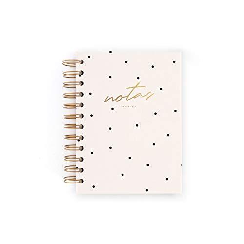 Cuaderno mini Charuca. Blanco