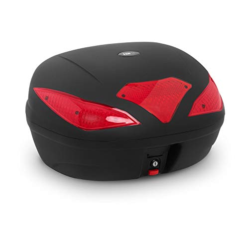 MSW MSW-MC62L3 Topcase Top Case Topcase Roller Motorradkoffer 62 L