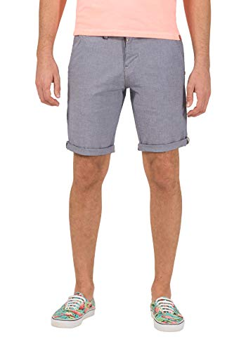 Timezone Slim Jannotz Short Pantalones Cortos, Gris (Micro Grey Check 8644), W36 para Hombre