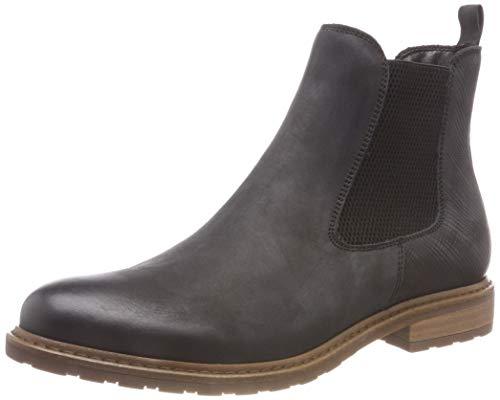 Tamaris Damen 25056-21 Chelsea Boots, Schwarz (Black 1), 38 EU