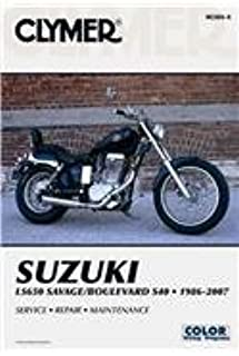 Suzuki LS650 Savage/Boulevard S40, 1986-2007 (CLYMER MOTORCYCLE REPAIR)