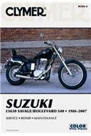 suzuki ls650 savage boulevard s40, 1986 2007 (clymer motorcycle 2001 S40 Timing Belt Diagram