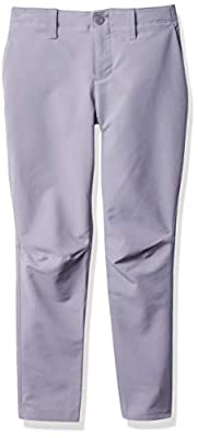 Under Armour Boys Match Play Taper Pants, Steel (035)/Steel, 8