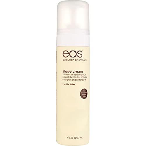 EOS Ultra Moisturizing Shave Cream, Vanilla Bliss - 7 Fl Oz (Pack of 2)