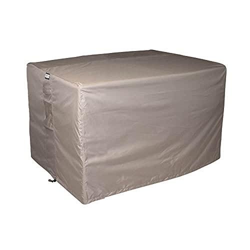Raffles Covers RLB140straight Abdeckung für Lounge Bank 140 x 85 cm Loungesofa Abdeckung, Schutzhülle für Gartensofa, Wetterschutz für Rattan Garten Lounge