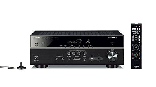 Yamaha RX-V483BL 5.1-Channel 4K Ultra HD MusicCast AV Receiver (Renewed)
